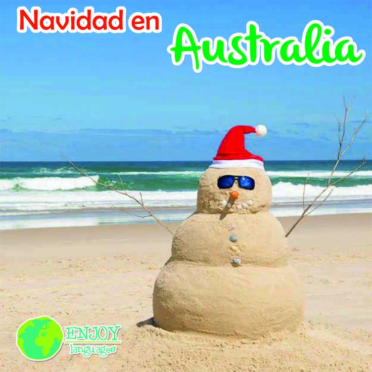 #Navidad en #Australia La Navidad en Australia es a menudo muy calurosa. No es raro que el día de Navidad esté a 30 grados. #FelizNavidad #MerryChristmas