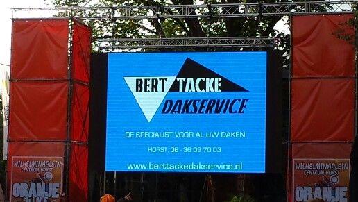 Sponsoring WK plein in Horst
