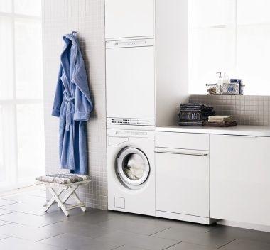 White Laundry with ASKO appliances