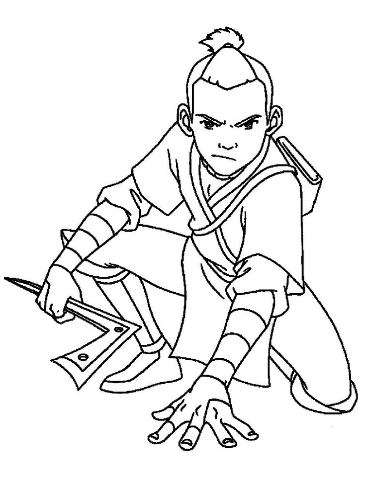 the legend of korra handler elements coloring pages - My Blog About ...