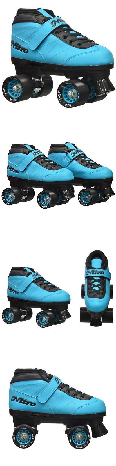 Women 16261: Epic Nitro Turbo Blue Quad Speed Roller Skates -> BUY IT NOW ONLY: $79.99 on eBay!