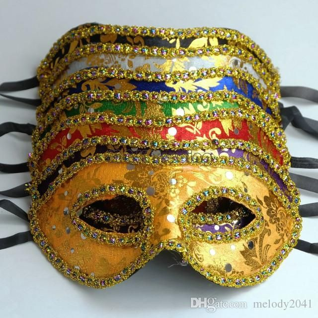 Cheap Masquerade Mask Gold Face With Border Mask Unisex Design Half Face Costume Ball Eye Mask Free Ship Halloween Masquerade Costumes Halloween Masquerade Mask From Melody2041, $0.91| Dhgate.Com