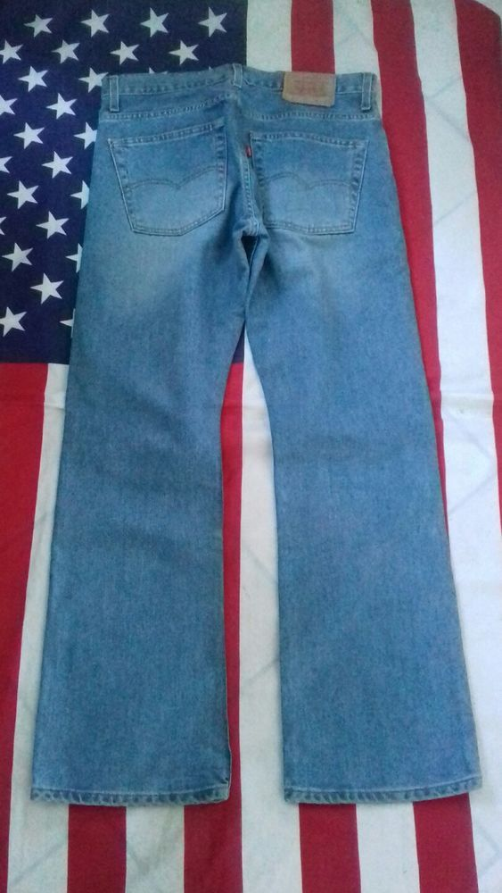 ccdf65c4 Vintage LEVI'S 507 BOOTCUT light BLUE JEANS WAIST 34 LEG 32' #Levis #Bootcut