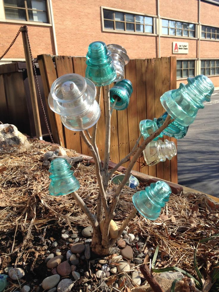 Collecting Glass Insulators — The Grumpy Gardener | Gardening with Confidence & Plants with Benefits with Helen Yoest