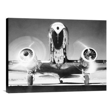 Check out this item at One Kings Lane! Front View of Passenger Airplane