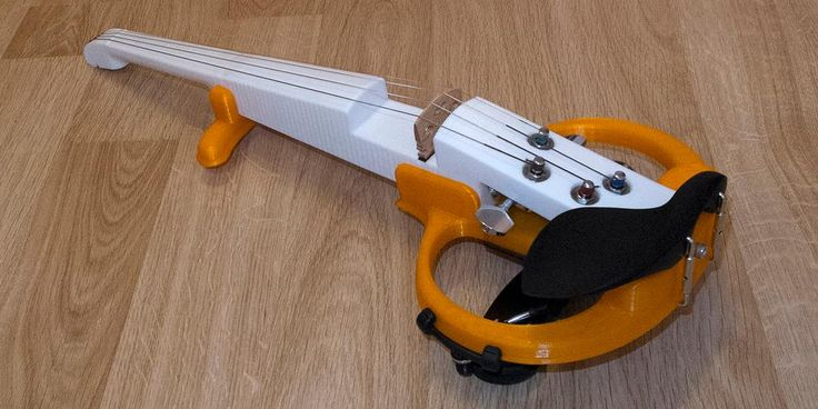 Siberian Scientist Creates an Amazing 3D Printed Electric Violin http://3dprint.com/55196/3d-printed-electric-violin/