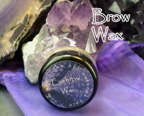 The All Natural Face - Vegan Brow Wax, $3.50 (http://www.theallnaturalface.com/vegan-brow-wax/)