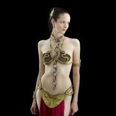 DIY Princess Leia Metal Bikini (instructables.com) modifying this for my steampunk ariel!