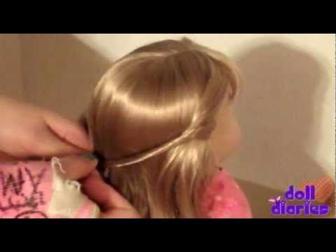 American Girl Hairstyles for Dolls with Bangs