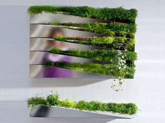 Garden Planter Mirror, h20 architects, eco design, sustainable design, green design