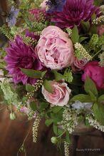 母の日*芍薬と薔薇とライラックのシャンぺトルブーケ*大きめ