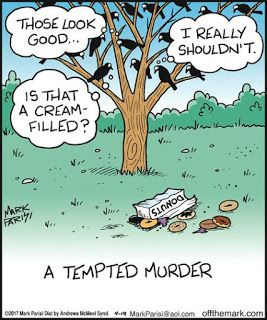 Mystery Fanfare: Cartoon of the Day: A Tempted Murder