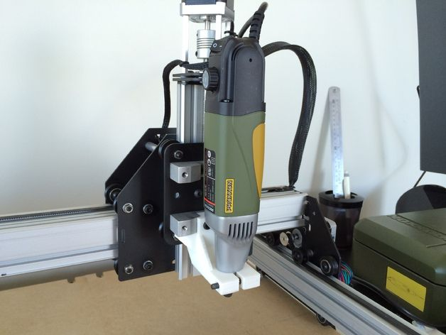 shapeoko 2 proxxon ibs e mount by ericy thingiverse diy cnc router pinterest. Black Bedroom Furniture Sets. Home Design Ideas