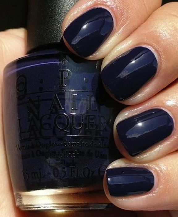 17 Best Ideas About Navy Nail Polish On Pinterest