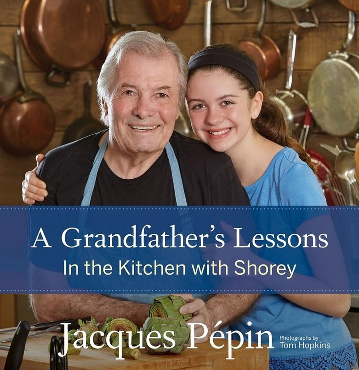 Talking about the collaboration with his 13-year-old granddaughter on his latest cookbook, world renowned chef Jacques Pépin called attention to