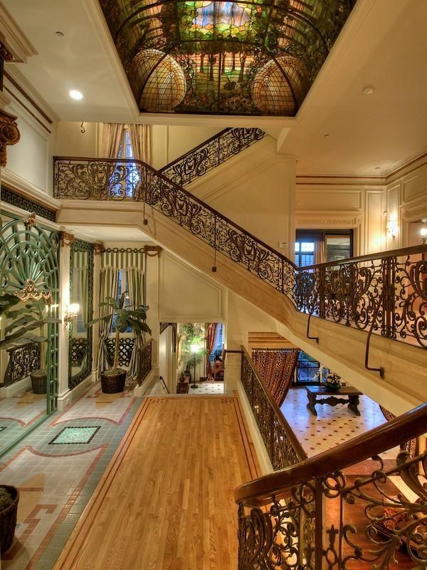 Opulent Italianate Mansion in San Francisco San Francisco Hotel Interior Designs