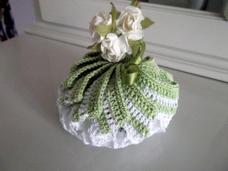 Portasapone o portaconfetti con fiore centrale
