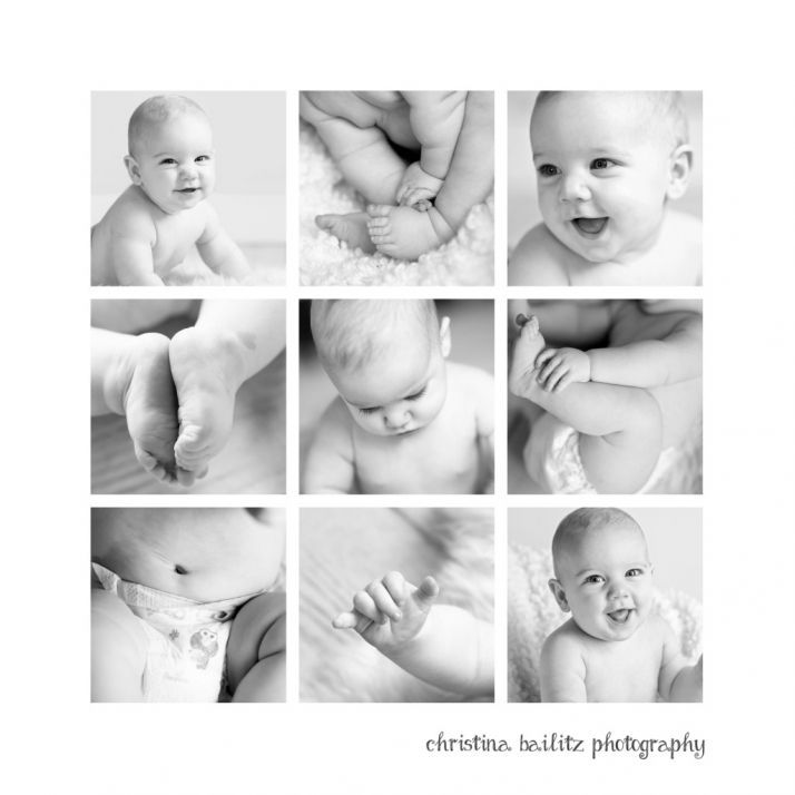 Tinley park baby first year photography christina bailitz photography