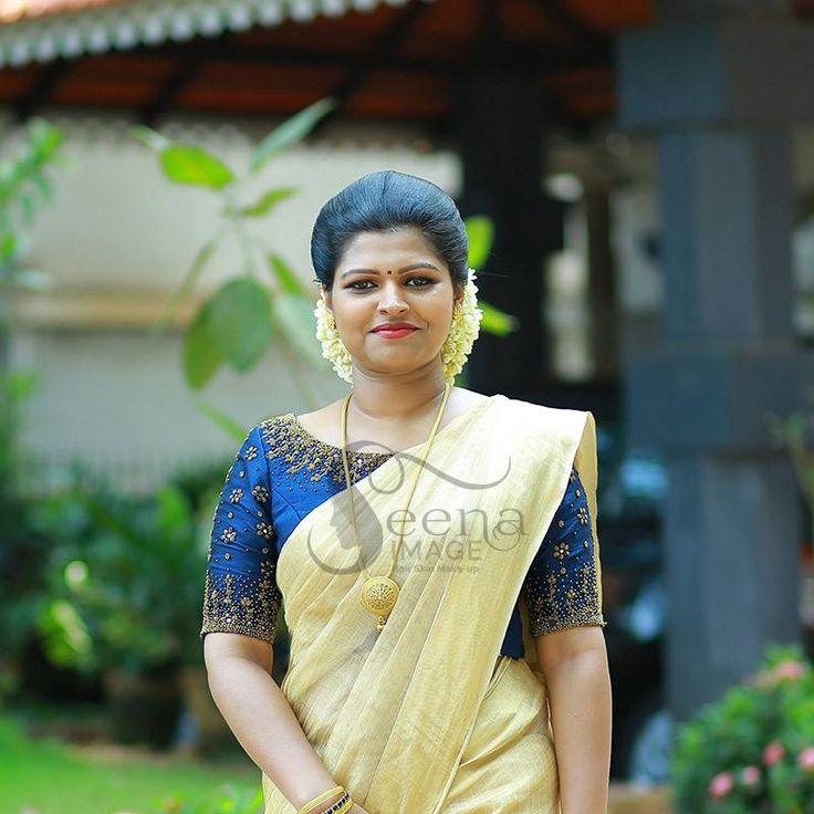 Kerala Pattu Sarees In 2019 Kerala Saree Blouse
