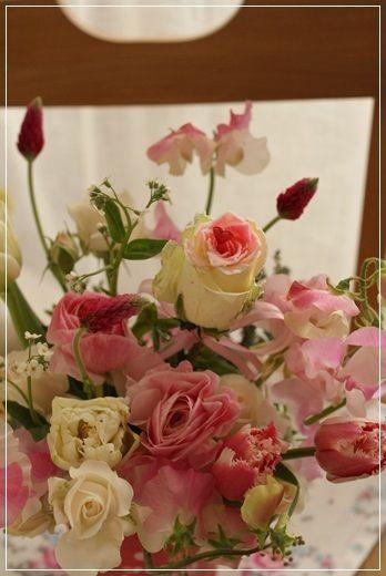 【今日の贈花】Flower noteのvalentine's day 2|Flower note の 花日記 (横浜・上大岡 アレンジメント教室)