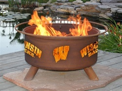 Wisconsin Badgers Firepit...?!  I need this immediately!
