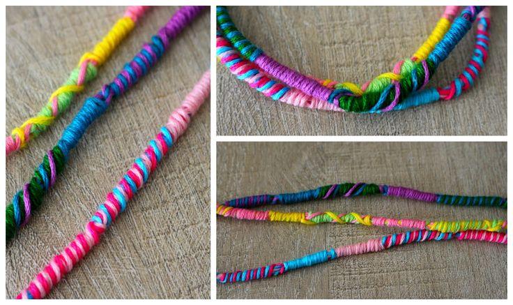 DIY : Bracelet Brésilien rond Facile / Atébas / Tresse indienne