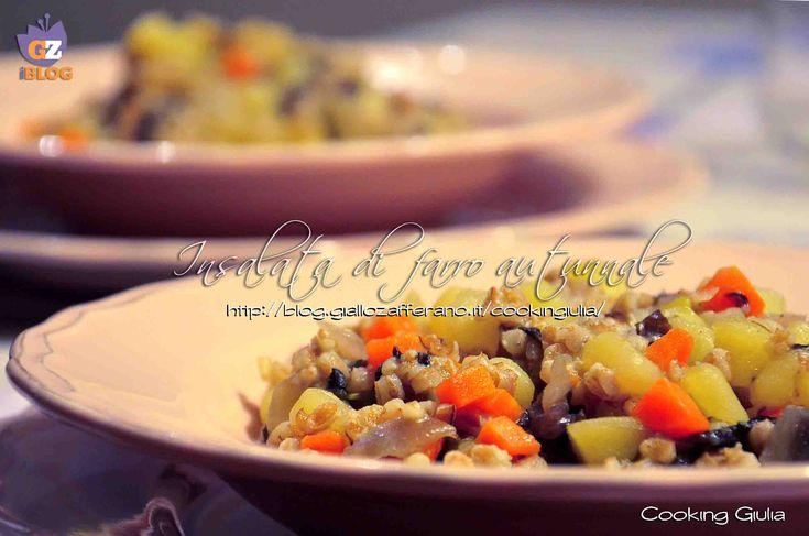 Farro radicchio patate e carote
