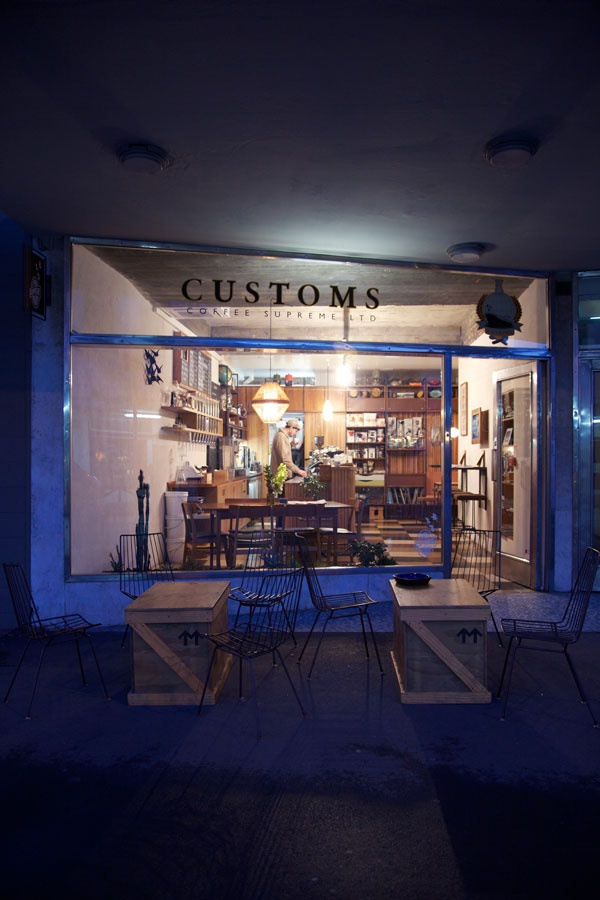 customs coffee supreme, Wellington, NZ