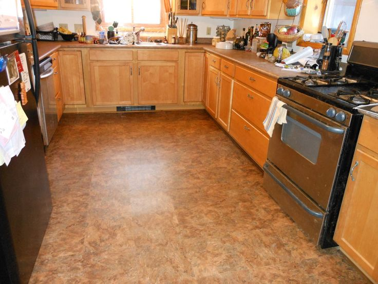 Kitchen Flooring Pictures | Writing The Witchy Way: The New Kitchen Floor  Saga