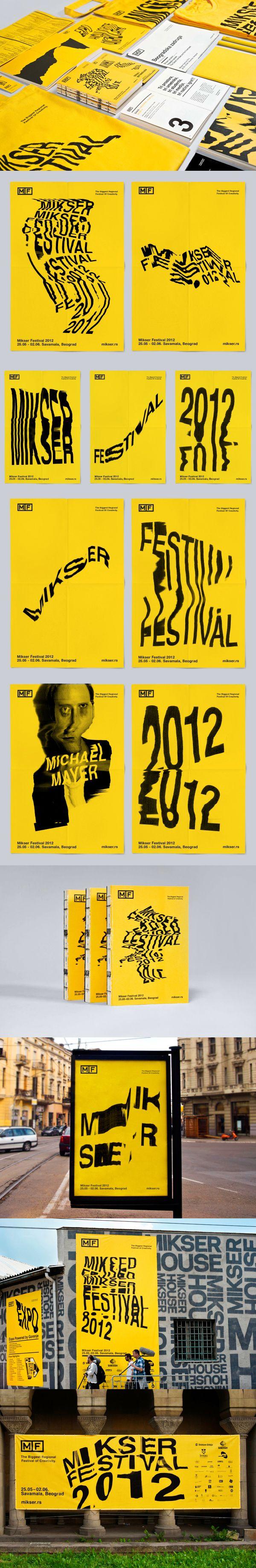 Mikser Festival 2012 by Lorem Ipsum Studio, Belgrade