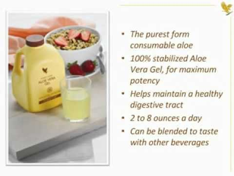 Forever Living Products Aloe Vera drinks and benefits