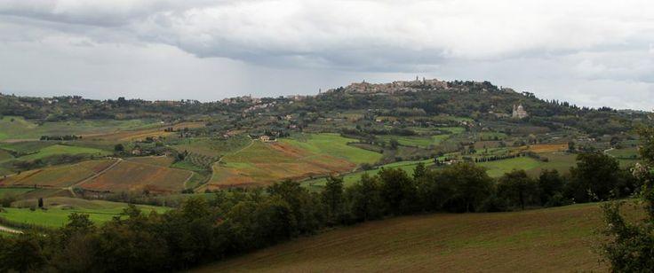 Montepulciano e chiesa di San Biagio