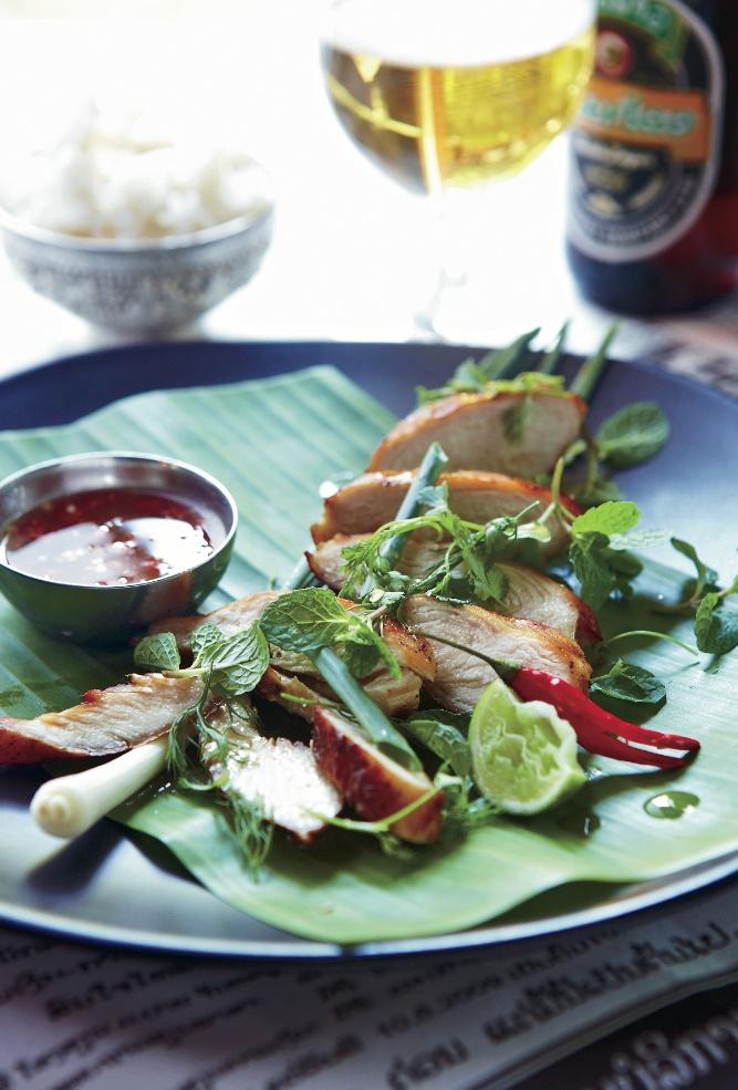 Petrina Tinslay Lemongrass-Cilantro Chicken with Honey Dipping ...