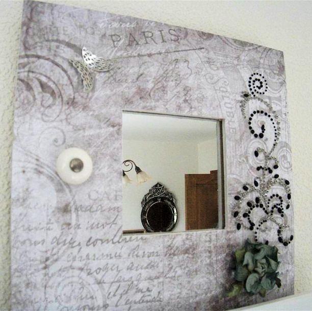 Another Ikea mirror - Scrapbook.com
