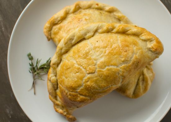 Flaky, buttery chicken & root vegetable pasties (hand pies) to keep you warm and satisfied!