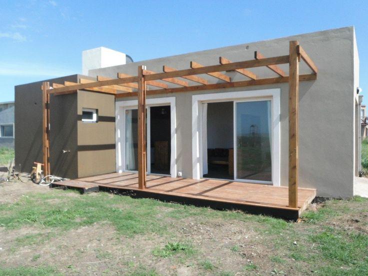 Planos de monoambientes con entrepiso buscar con google casas cubo y minimalistas - Casas de madera y mas com ...