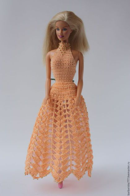 Одежда для кукол ручной работы. Заказать Подружка. Барбариска. Ярмарка Мастеров. Подарок для девочки, украшение бисером, бисер