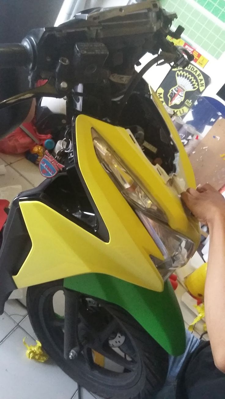 CARA MUDAH MASANG STICKER MOTOR ORACAL - Radja Sticker