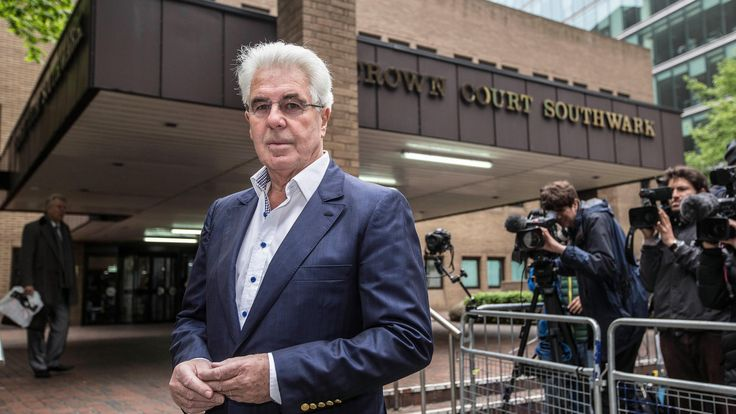 "Max Clifford, mastermind of the kiss-and-tell sex scandal who was jailed for sex offences, has died aged 74. A fellow publicist described it as ""the end of a very dubious legend"". The public..."