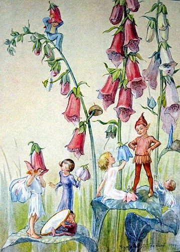 """""""Do you ever wonder where the colour goes to when the flowers die? The fairies help 'emselves to it.""""    Mr. Digswell from Joan in Flowerl..."""