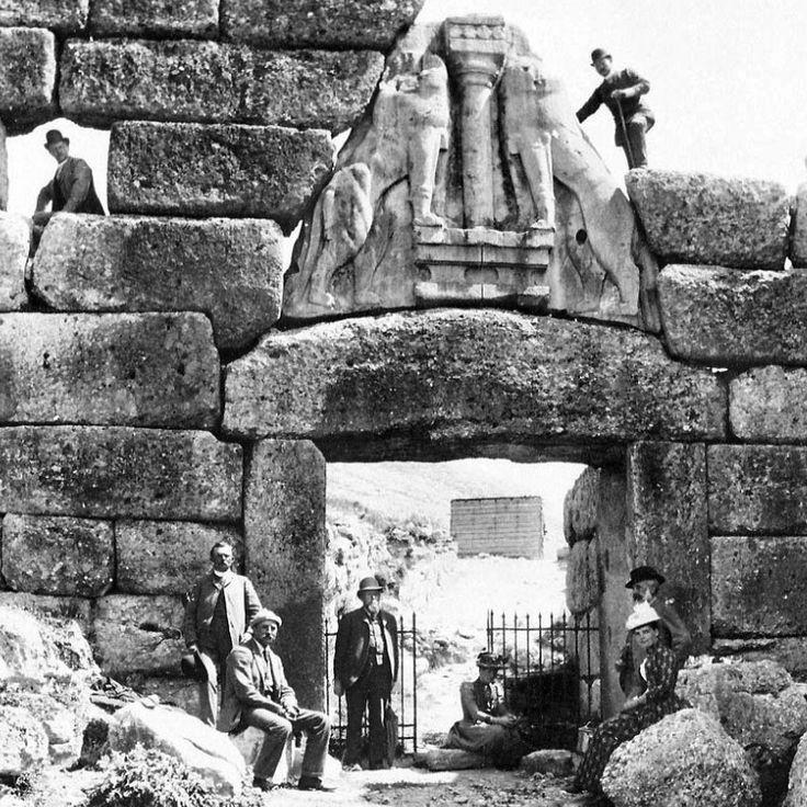 Heinrich Schliemann e la porta dei leoni