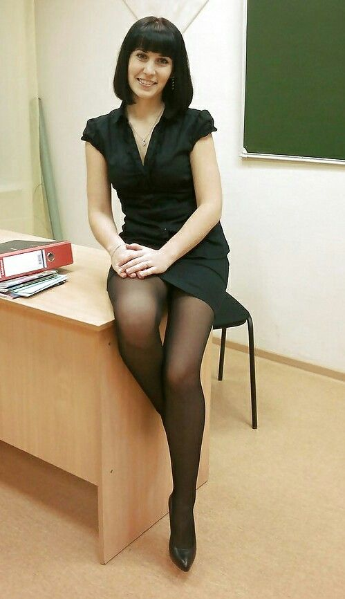 Crazy lady pantyhose