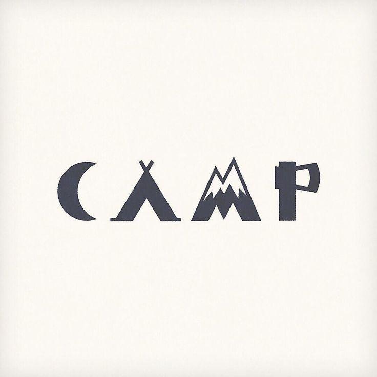 25 best ideas about camp logo on pinterest vintage logo for Camp designs