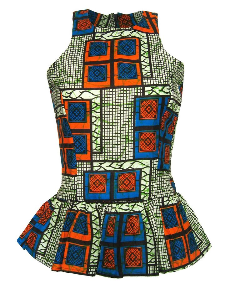 New in amazing bold peplums from FAIR+true http://www.fashion-conscience.com/new/new-arrivals-ethical-clothing/fair-trade-african-print-peplum-top-1.html