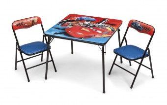 Dětský stůl s židlemi Cars V