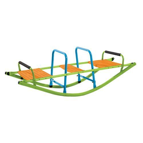 Pure Fun Kids' Rocker Seesaw Green - Outdoor Games And Toys, Swing Sets/Bounce Houses at Academy Sports