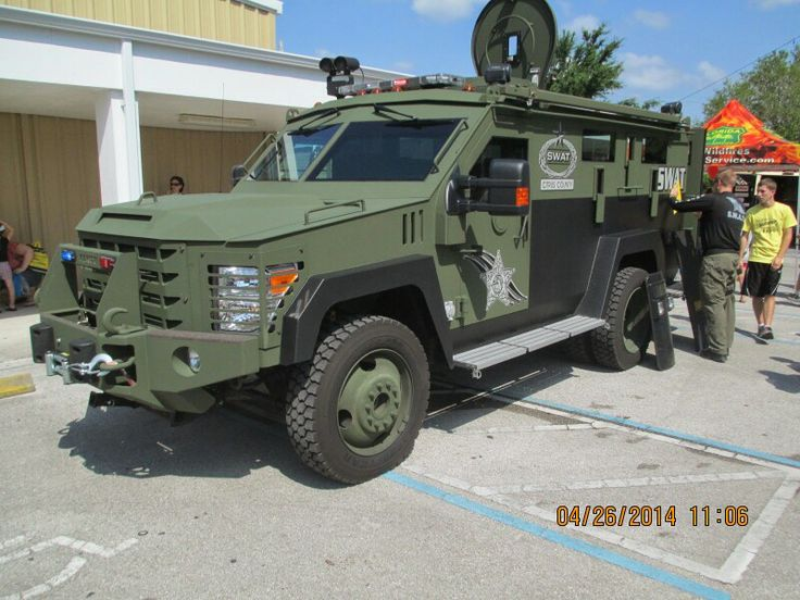 Citrus county florida swat armored truck armored