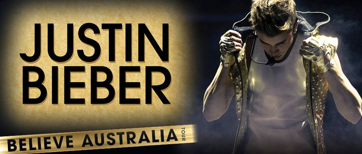 Justin Bieber BELIEVE Tour Dates – Australia and New Zealand 2013!
