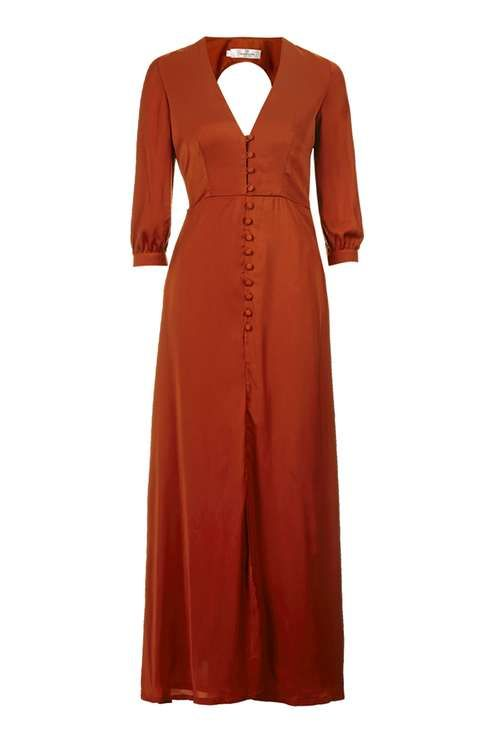 **Button Down Maxi Dress by Oh My Love
