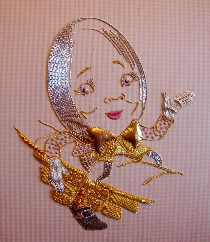 Advanced Goldwork by Wendy Schoen